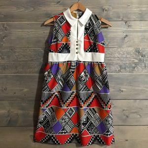 Vintage 70's handmade dress
